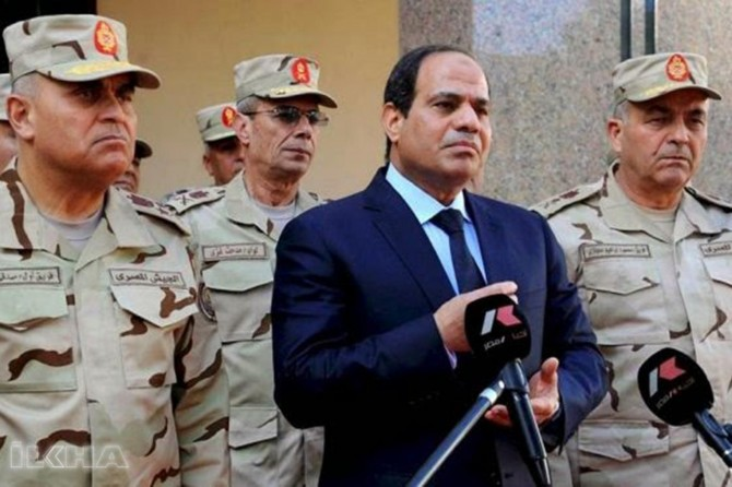 Pre-election operation in Egypt