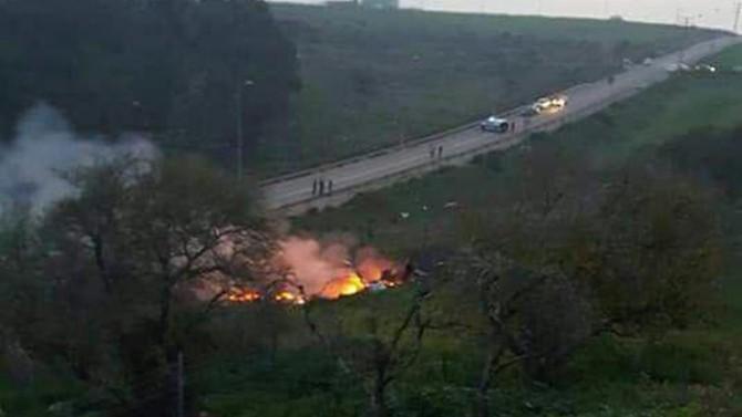 Israeli jet shot down in Syria