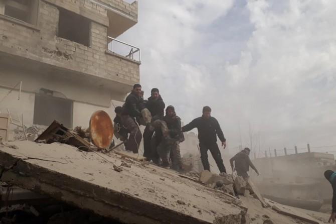 BM: Suriye'de bir haftada 230'dan fazla sivil hayatını kaybetti