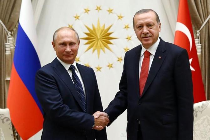 Cumhurbaşkanı Erdoğan'dan Putin'e taziye mesajı