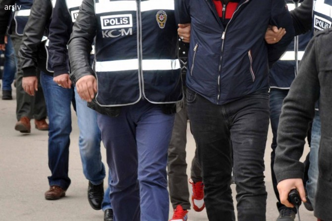 Afrin operasyonuna ilişkin 666 gözaltı