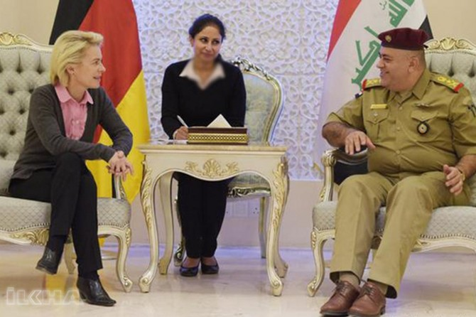 Plans of German government on Iraq