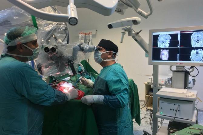 Beyin ve sinir cerrahisinde Adıyaman'da bir İlk