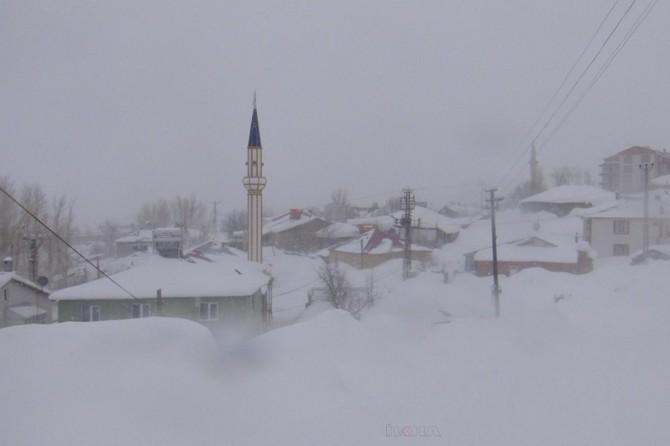 Van'da yoğun kar yağışı: 39 köy yolu kapandı