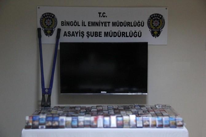 Bingöl'de 4 hırsız tutuklandı