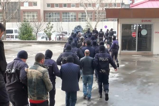 Gaziantep'te 3 kişi tutuklandı