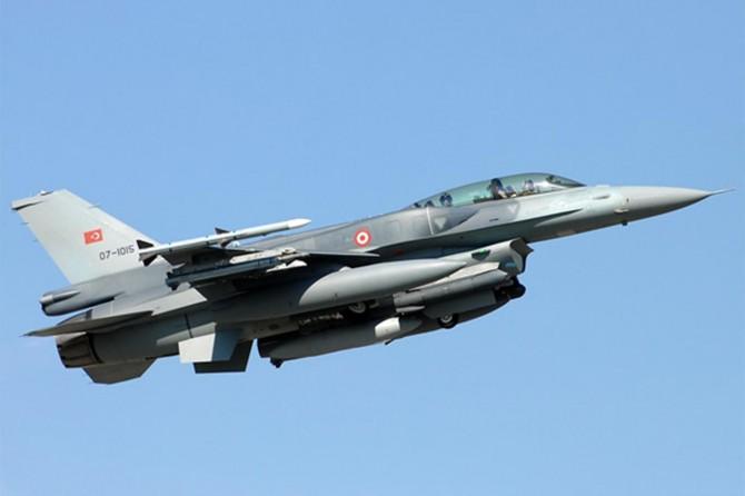 Irak'taki PKK hedeflerine hava harekatı düzenlendi