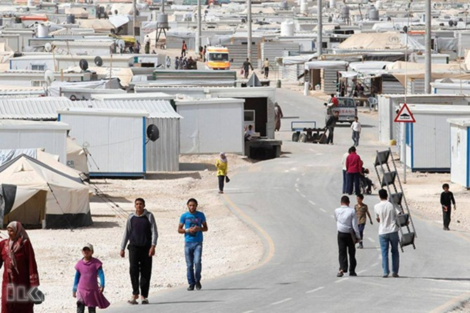 Permission to work for Syrian refugees