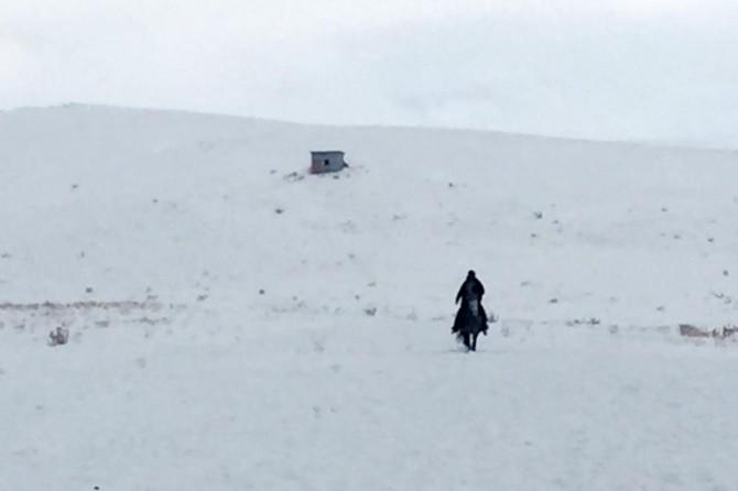 VASKİ ekipleri at sırtında arızaya ulaştılar