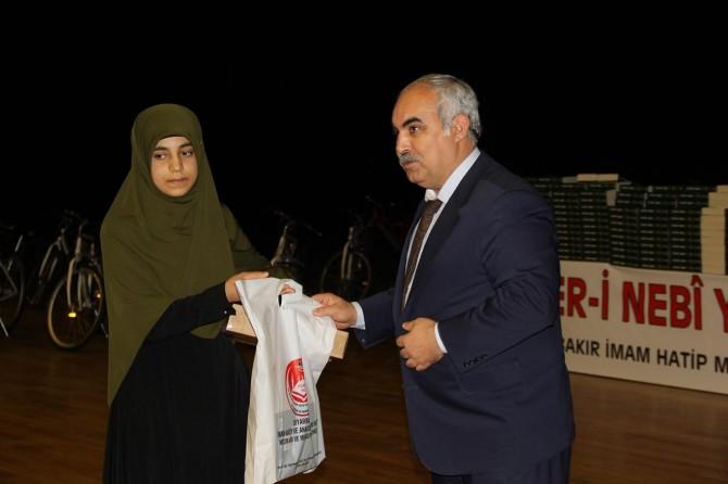 Siyer-i Nebi yarışmasında başarılı olan 571 öğrenciye ödül verildi