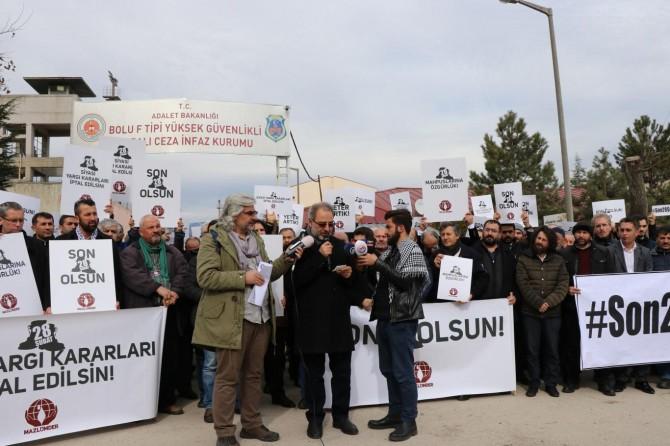STK'lardan '28 Şubat mağdurlarına özgürlük' talebi