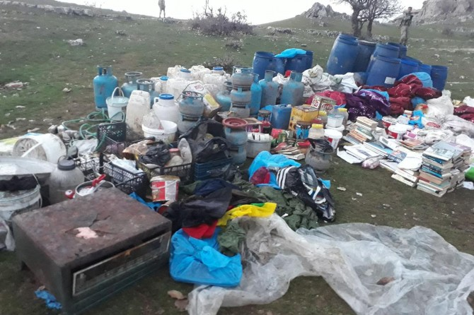 Diyarbakır'da PKK ait iki yeraltı sığınağı bulundu