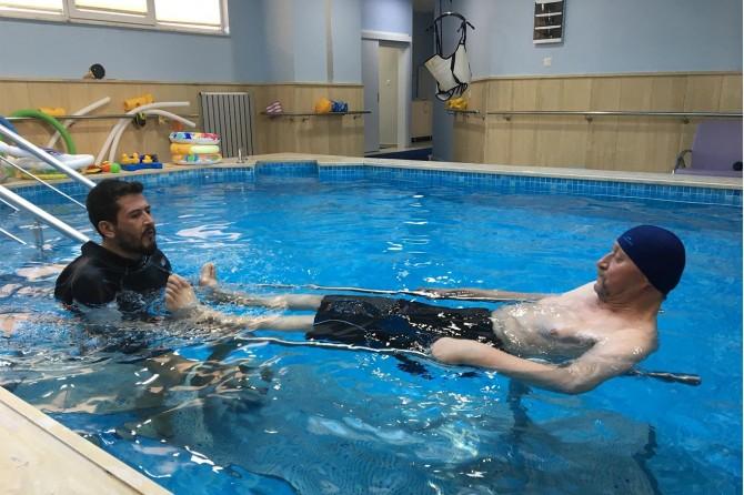 Ortopedi hastalarının yeni umudu: Hidroterapi