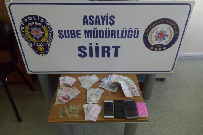 Siirt'te hırsızlık operasyonu