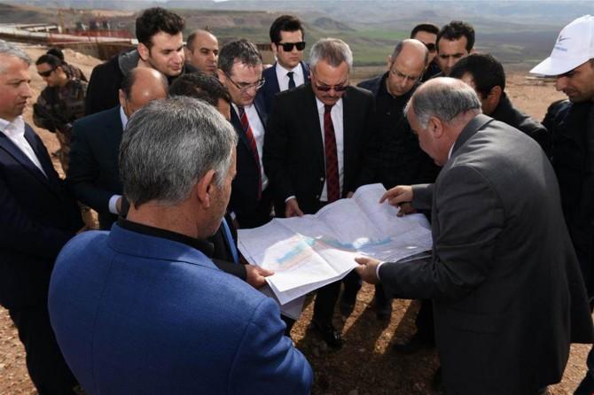 Hasankeyf'te taşınacak köyler incelendi