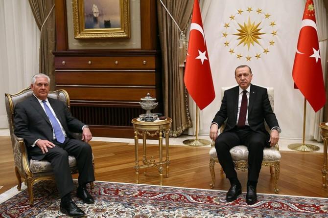 Hevdîtina Erdogan-Tîllerson bi dawî bû