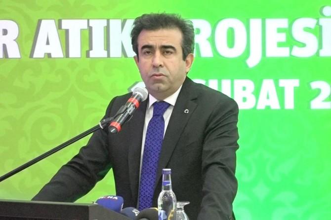 """""""Diyarbakır'da birey başına günlük bir kilogram atık düşüyor"""""""