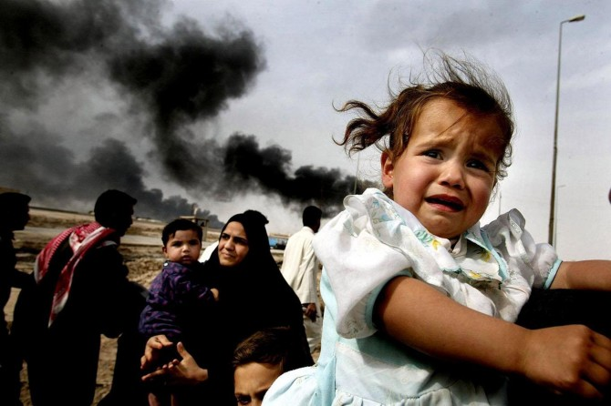 357 mîlyon zarok li deverên şer dijîn