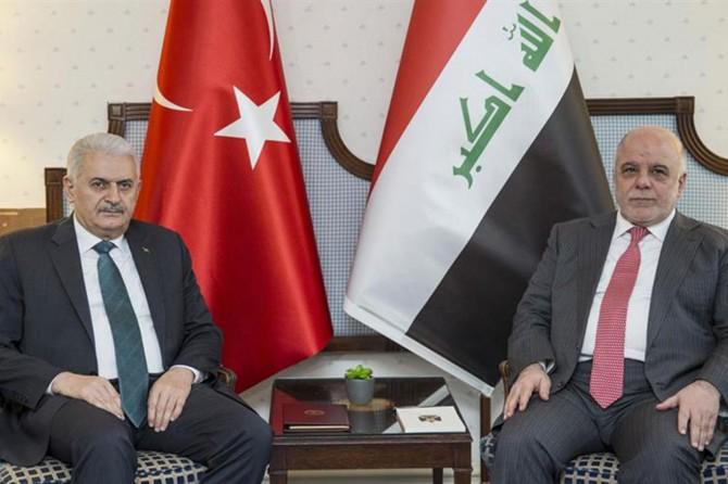 Yıldırım Irak Başbakanı İbadi ile görüştü