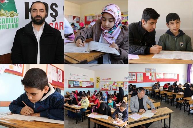 Gaziantep'te Siyer Sınavı'na 10 binden fazla kişi katıldı