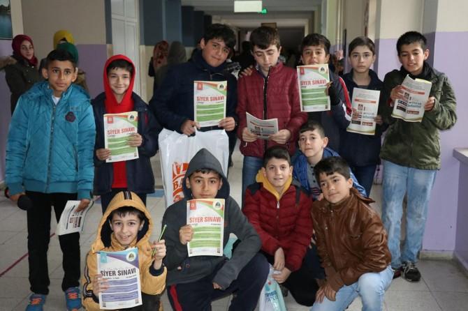 Bingöl'de binlerce Peygamber Sevdalısı Siyer Sınavı'na katıldı
