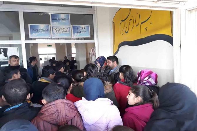 Çınar'da 18 noktada Siyer Sınavı yapıldı VİDEO-FOTO