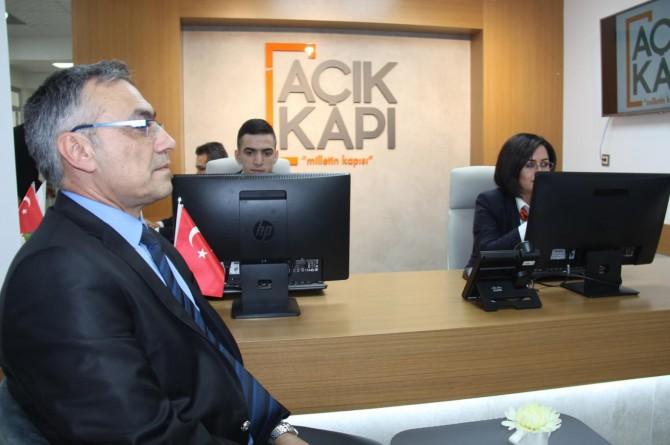 """Diyarbakır'da """"Açık Kapı"""" projesi faaliyete girdi"""