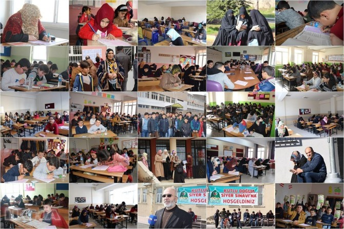 Umrah award-winning Al-Sira exam holds in Turkiye