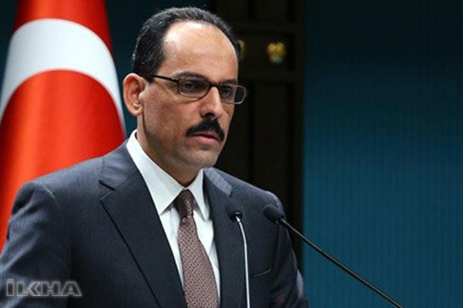 There are secret and dirty negotiations: Ibrahim Kalın