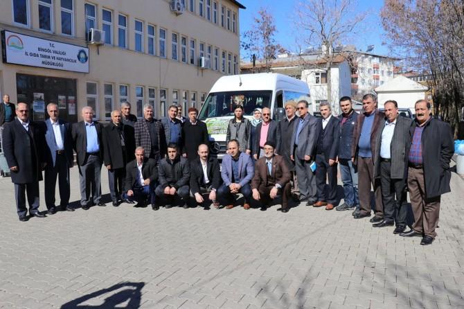 Bingöllü çiftçiler Ankara'ya gitti