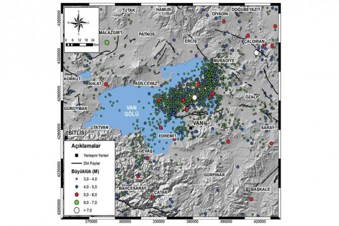 Büyükşehir Van'ın afet risk haritasını çıkarıyor