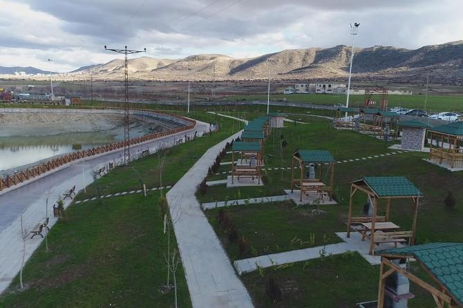 Kırkat Göleti mesire alanı hizmette
