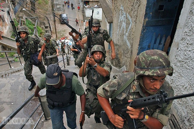 Army to take control of security in Rio de Janeiro