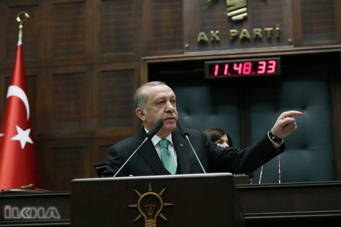 The siege of the Afrin center is soon: President Erdoğan