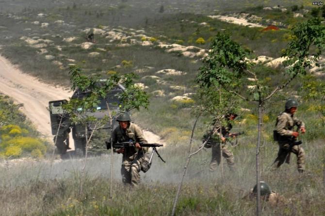 Kanireş bölgesinde çatışma