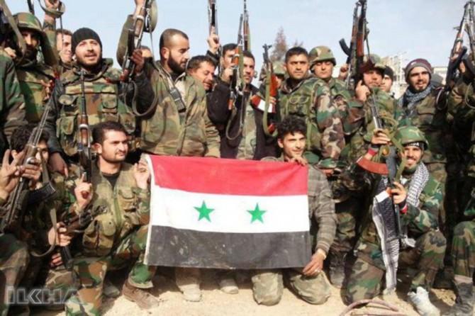 """Syrian forces begin to enter Afrin"""