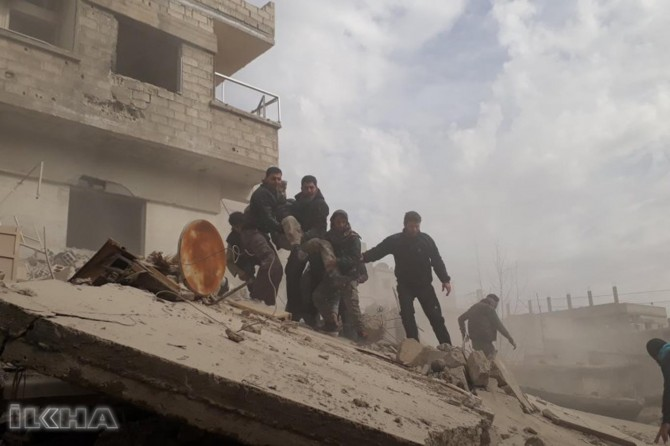 Civilians under attack in East Gouta