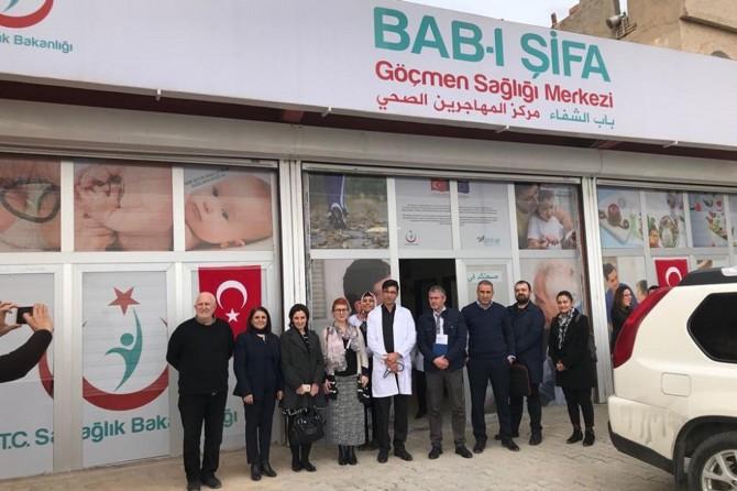Mardin'de 'Göçmen Sağlığı Merkezi' açıldı