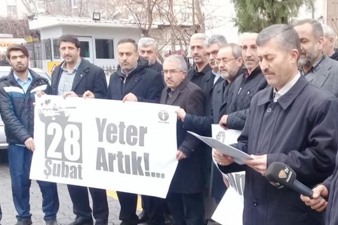 28 Şubat mağdurları için çağrı: #BuSon28ŞubatOlsun