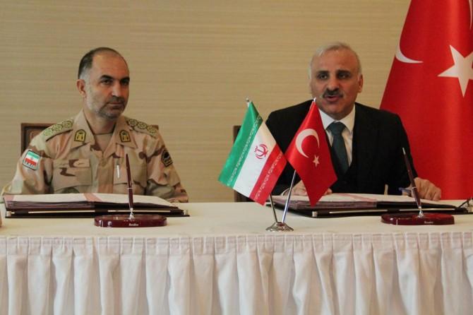 İran ile Türkiye arasında 'Hudut Güvenliği Mutabakatı' imzalandı
