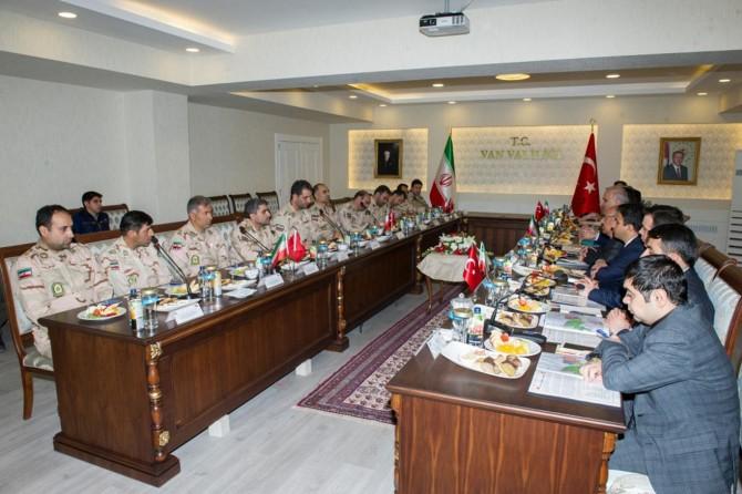 İran heyeti sınır güvenliği toplantısı için Van'a geldi
