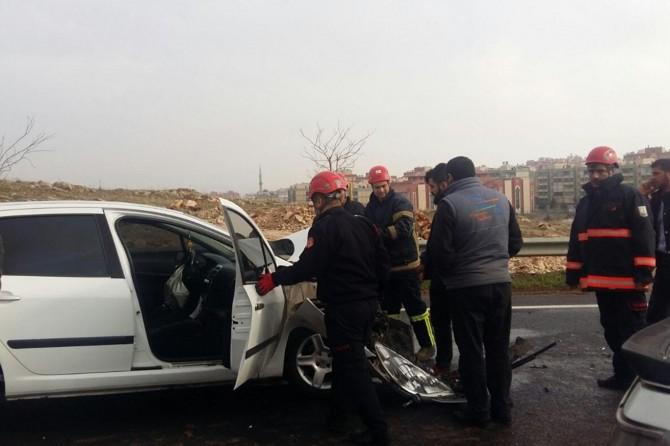 Şanlıurfa'da trafik kazası: Bir yaralı