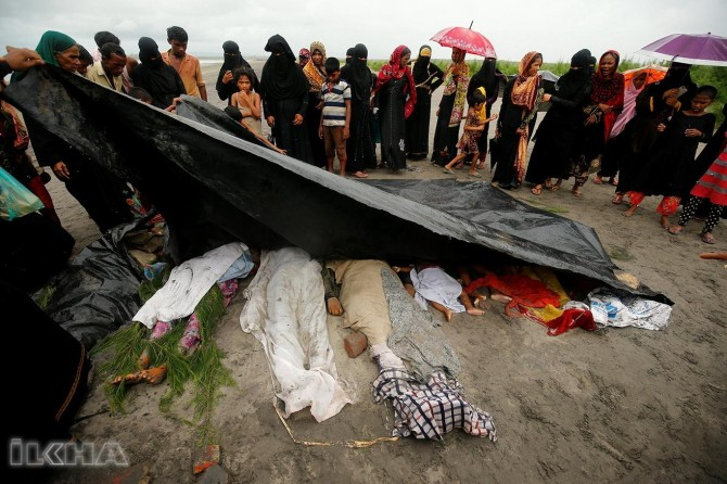 """There is ethnic massacre in Myanmar"""