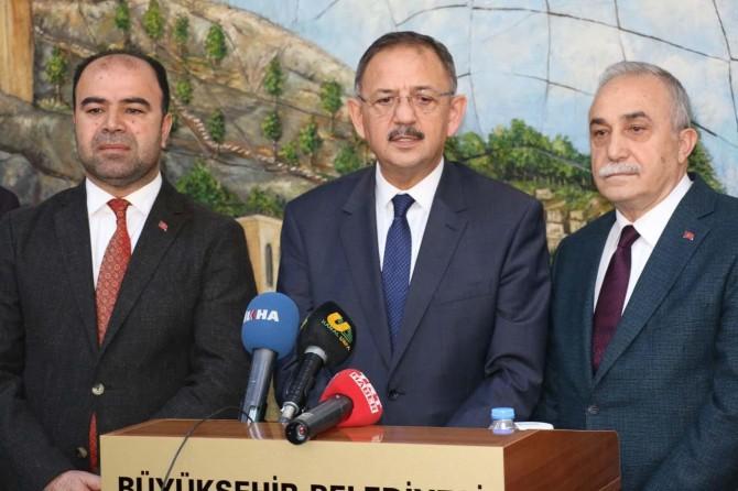 Çevre ve Şehircilik Bakanı Özhaseki Şanlıurfa'da