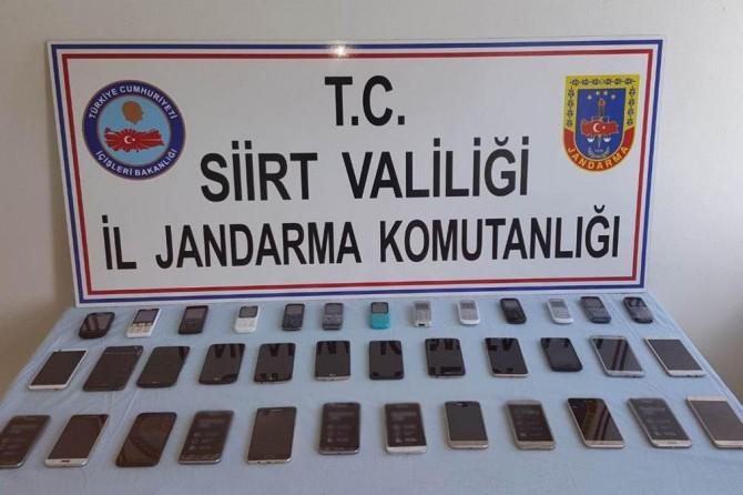 Siirt'in gümrük kaçağı cep telefonu operasyonu