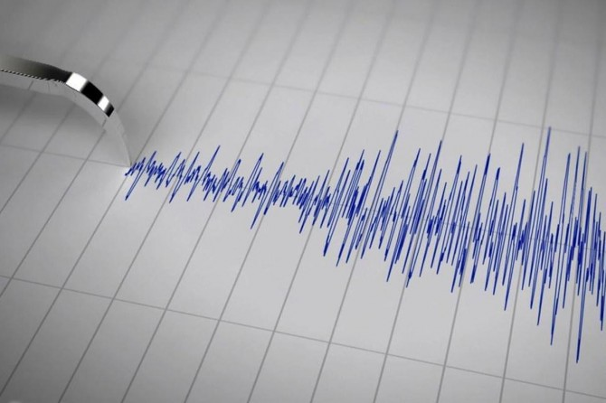 Ege'de 4,4 büyüklüğünde deprem