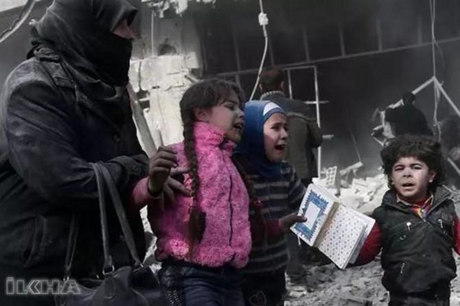 Leave East Ghouta: Syrian regime
