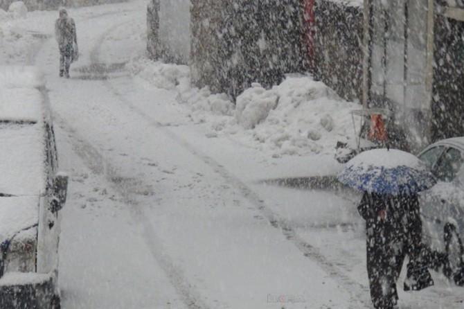 Van'da yoğun kar yağışı: 142 mahalle ve mezra yolu kapandı