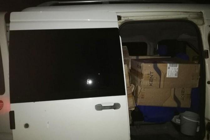Van'da 9 bin 500 paket kacak sigara ele geçirildi