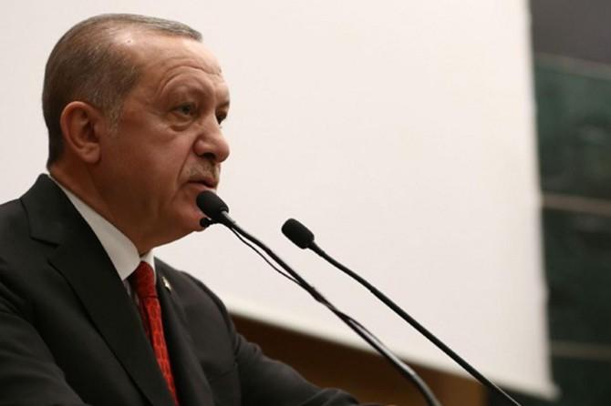 Cumhurbaşkanı Erdoğan'dan Necmettin Erbakan mesajı